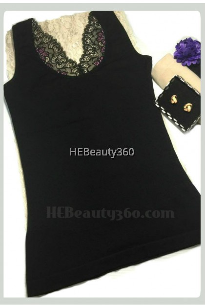 Premium Lace Upper Slimming Top (READY STOCK)