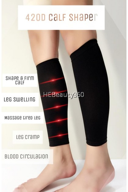 420D High Quality Calf Shaper (READY STOCK) ONE PAIR (2 PCS)