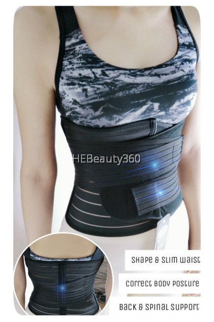 Double FUNCTION Waist & Hip TRIMMER (READY STOCK)