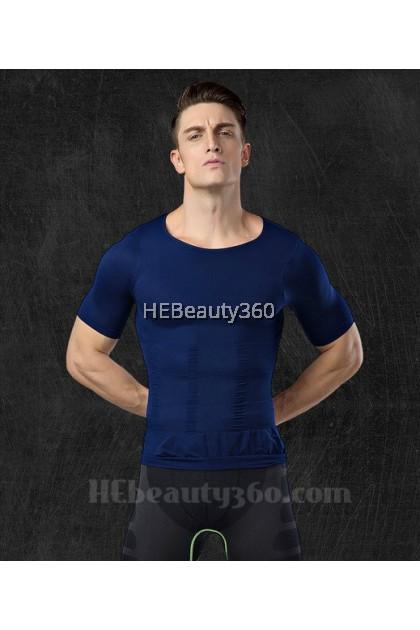 250D MEN HIGH DENSITY 3D WEAVE SLIM TOP (READY STOCK)