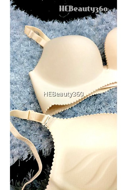 Feather Light Wireless Push Up Shaping Bra
