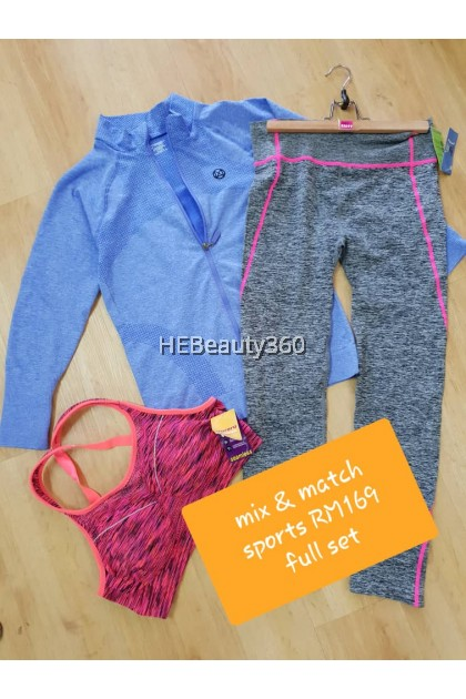 Europe Imported 3 pcs sports set