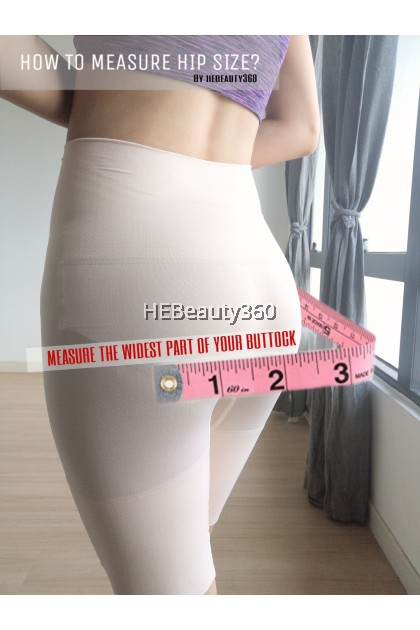 Bordelle Extra High Waist Slim Panties by Esmara/As Young (UK) (READY STOCK)