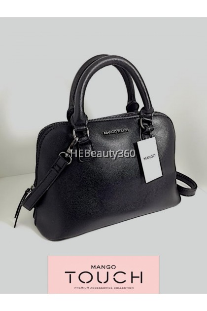SAFFIANO CROSSBODY SHELL TOTE HAND BAY By MANGO TOUCH (Design in Barcelona)